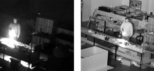 Difference between internal Infra Red and normal Cameras