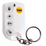 Wireless key fob with built-in panic button
