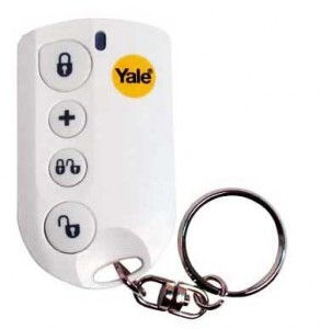 wireless key fob with panic button built-in
