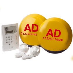 Yale Alarms installed throughout the UK by AD Alarms 