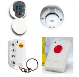 IAD Alarms Approved Yale Wireless Burglar Alarm installers throughout England