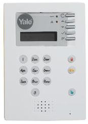 Yale alarm panel