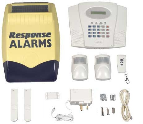 The Friedland Response SA range of wireless security alarms