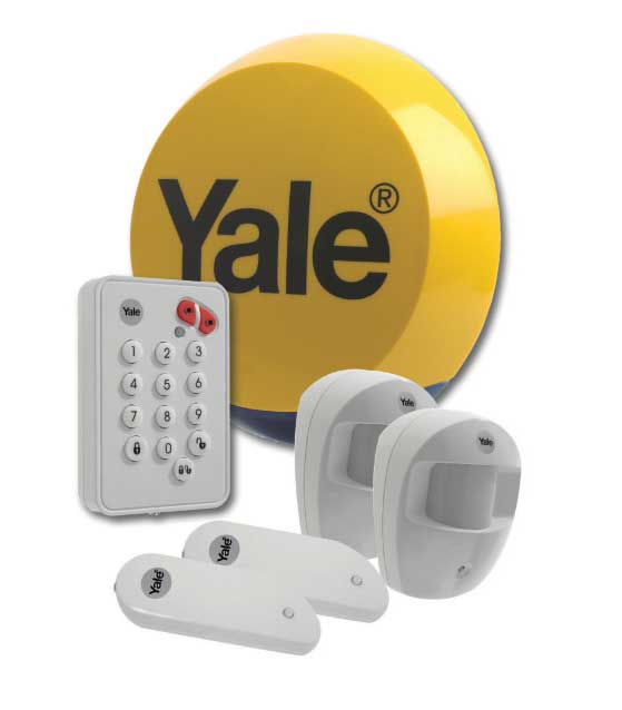 Yale Easy Fit Standard Alarm installed by AD Alarms throughout the United Kingdom