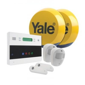 Yale Easy Fit Telecom Alarm Installed by A.D. alarms throughout the UK