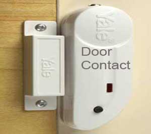 Yale Door Contacts