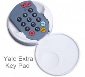 yale extra key pad