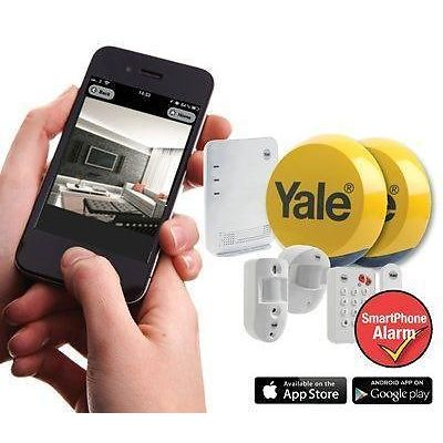 Yale Easy Fit Smart Phone Wireless Alarm Ef Kit3 Ad Alarms