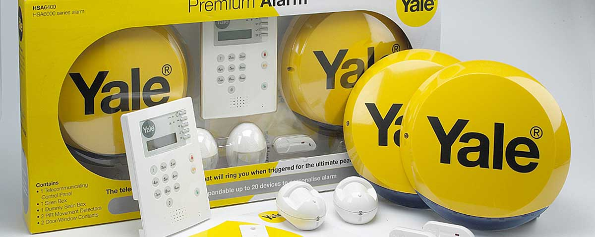 Yale Wireless Premium Gsm Burglar Alarm Kit Ad Alarms