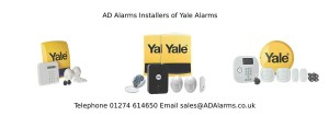 Yale Alarms installed by AD Alarms